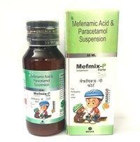 mefnemanic 300MG + paracetamol 250mg (mango)