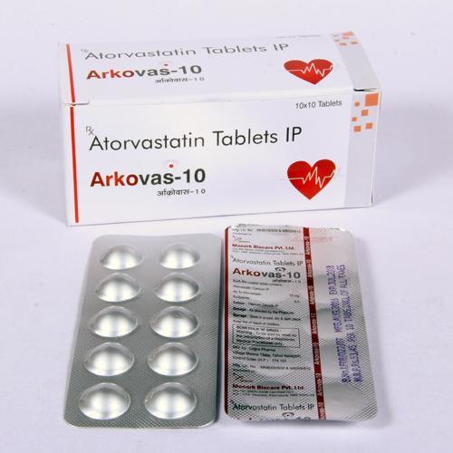 Atorvastatin 10mg Tablet