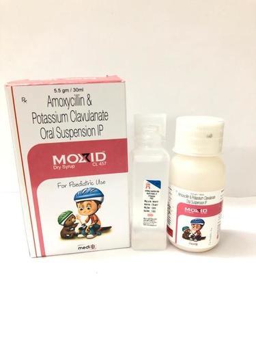 Amoxycillin & Potassium Clavulanate Oral Suspension IP