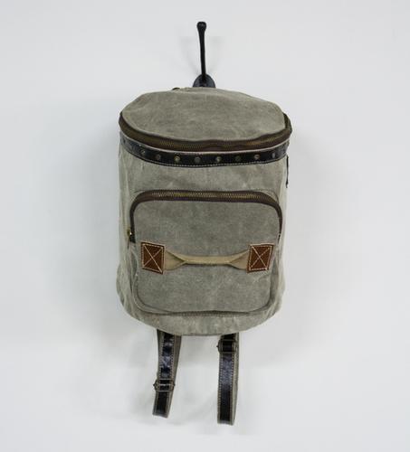 round classic mini backpack