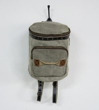 round classic mini backpack