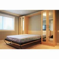 Khatri Wooden Wall Bed