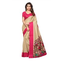 Printed Art Silk Manipuri Printed Saree