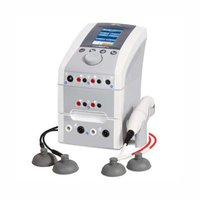 4 Channel Electro Therapy + 2 Channel Vacuum + US (1 & 3 Mhz)