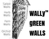 Herb Kitchen Wall