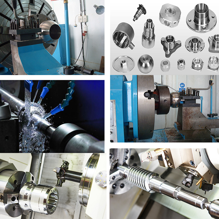 Universal spherical turning lathe with low cost