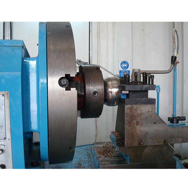 100 mm Spindle Hole Ball Turner Lathe Machine