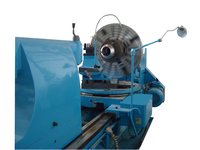100 mm Spindle Hole Horizontal Lathe Machine