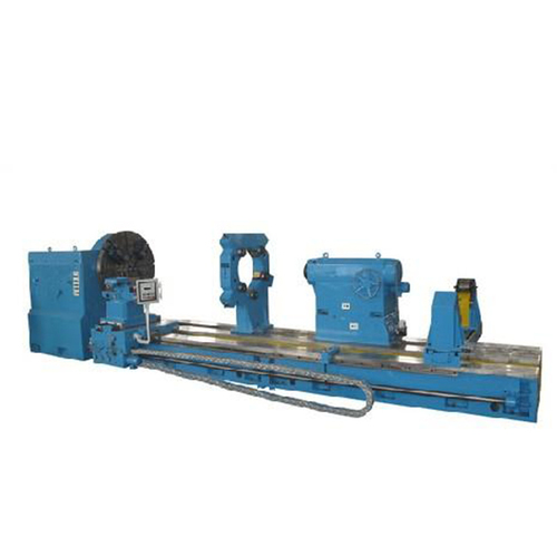 Blue Large Lathe heavy duty lathe machine with max.weight of workpiece 32t