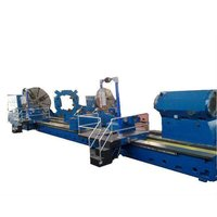 C61250 swing over bed 2500mm conventional heavy duty lathe with service