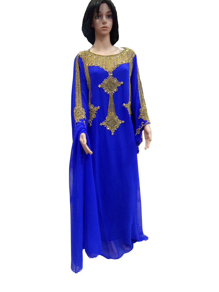 Blue Ladies Kaftans