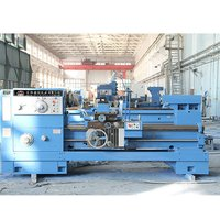 100mm Spindle Bore Turning Lathe Machine