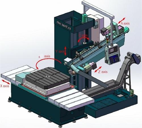 Automatic Horizontal 20 Degree Tilting Lengthen Drilling Machine