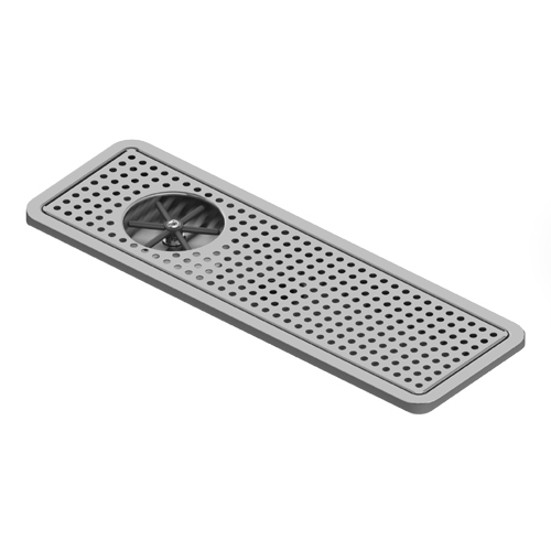 "25"" x 8.50"" Large Rinser Recessed Tray"