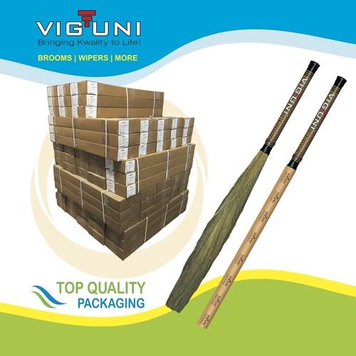 Paper Pipe Grass Broom
