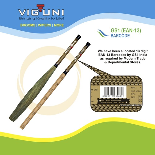 Natural Grass Broom