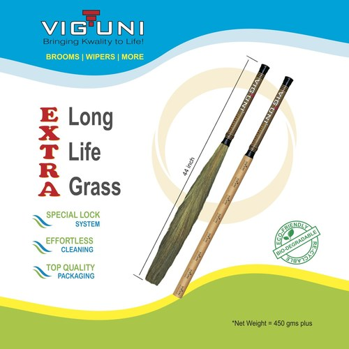 Long Handle Grass Broom