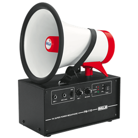 25 Watts PA Super Power Megaphone