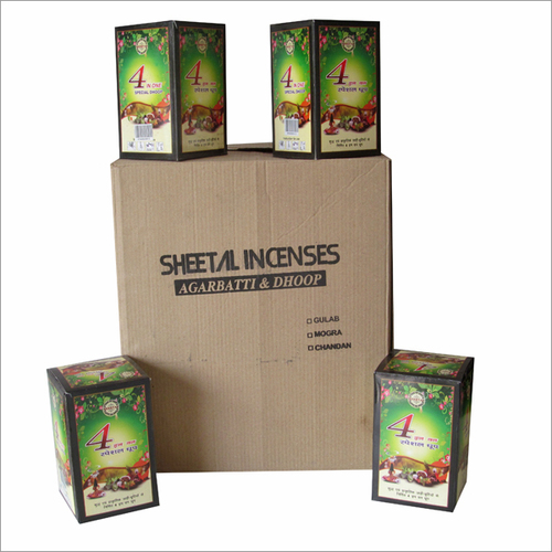 Dhoop Batti Packing Box