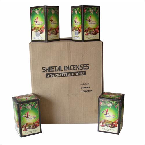 Dhoop Batti Packing Box
