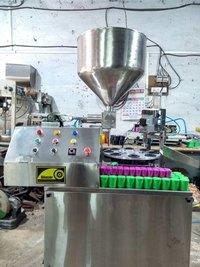 Automatic Chuna Bottle Filling Machine
