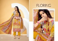 Salwar Ladies Cotton Unstitched Suits