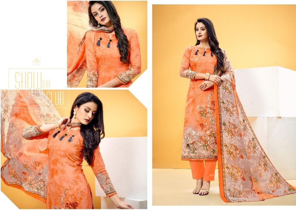 Salwar Ladies Cotton Unstitched Suits