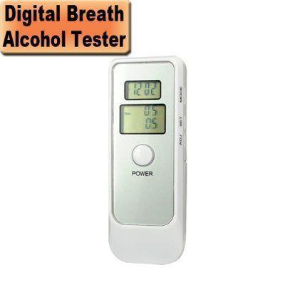 Digital Display Breathalyzer Model No. ATPL-MT-10