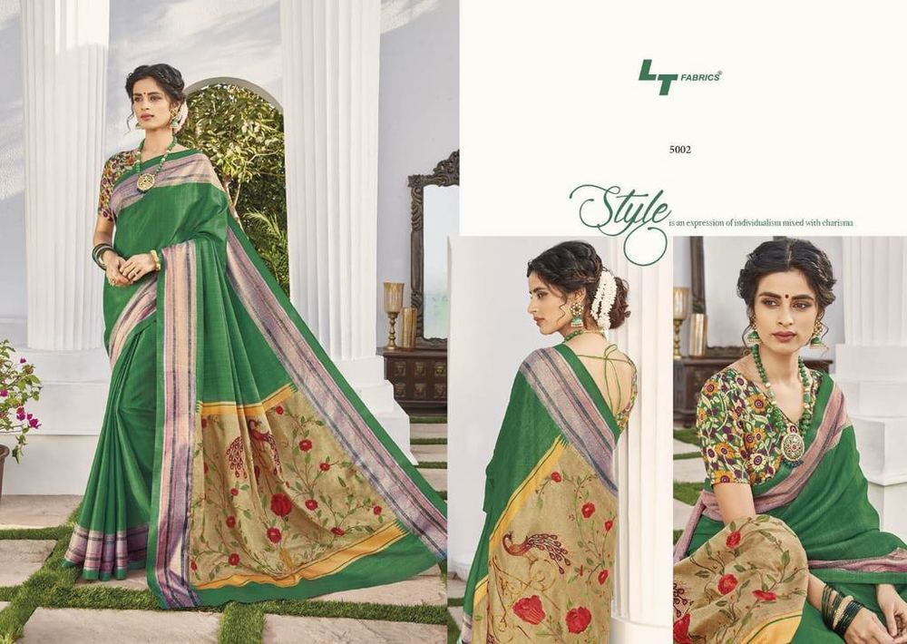 Designer Cotton Sarees Collection
