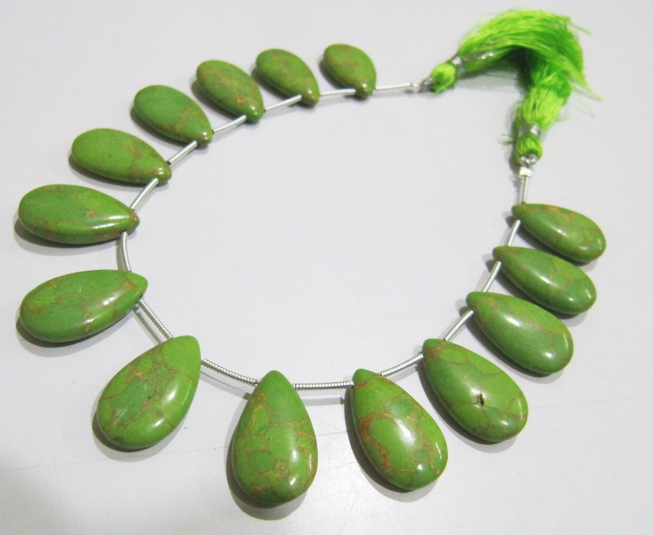 AAA Quality Green Copper Tourquoise  beads