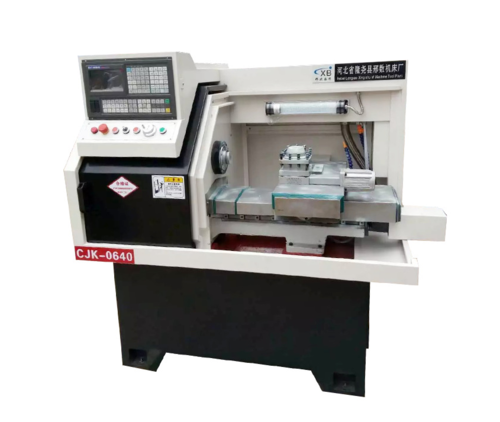 Free design drawing Horizontal bench lathe machine CK0640