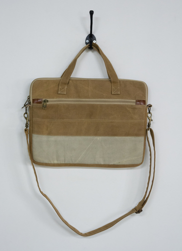 all canvas laptop bag