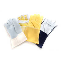 Leather Industrial Safety Gloves
