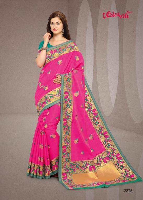 Indian Cotton Silk Sarees