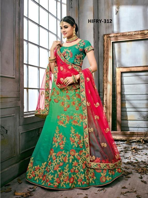 New Fancy Designer Silk Lehenga