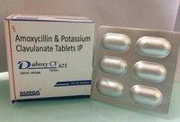 Amoxycillin 500mg. + Clavulanic Acid 125mg