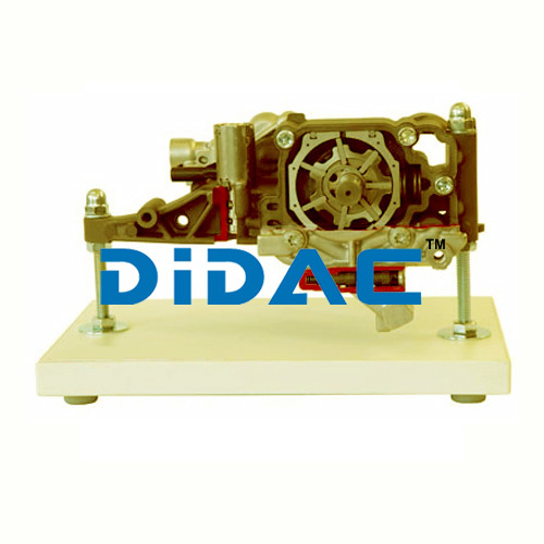 Demand Driven Oil Pump Without Suction Stage