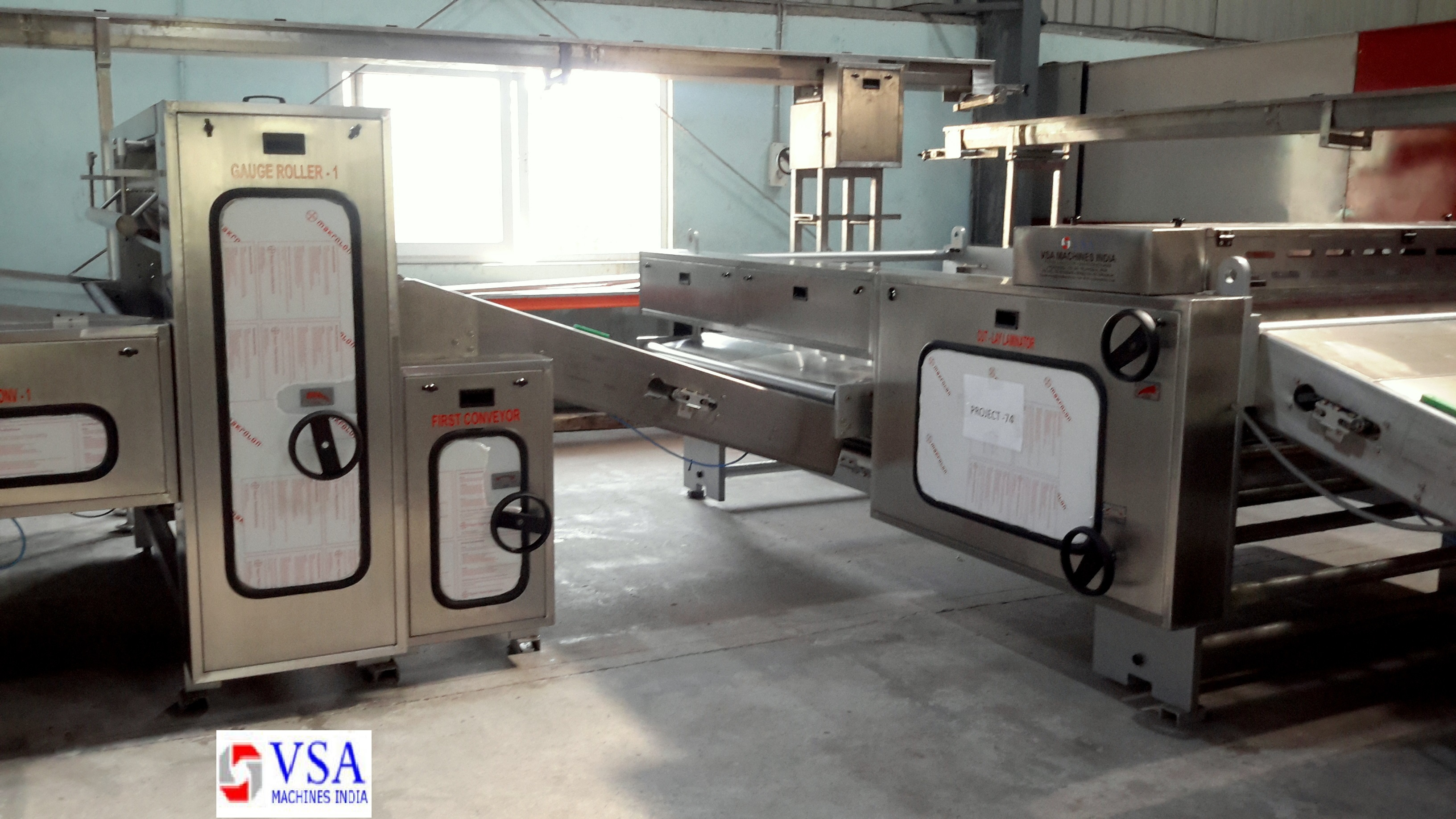 Biscuit Plant Hard Dough Machinery