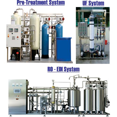 Pretreatment RO Plant