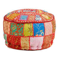Multi Pacth Bollywood Pouf