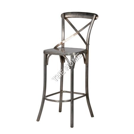 Cross Back Bar Chair Nicle