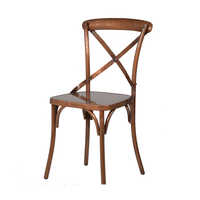 Cross Back Chair Copper