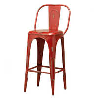 Tolix Bar Red Chair