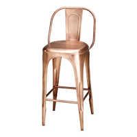 Tolix Bar Chair Copper