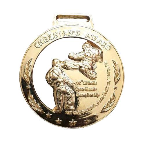 Fancy Karate Medal