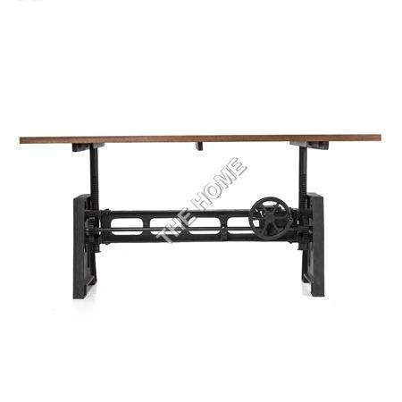 Crank Console Table