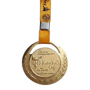 Male Karate Medals