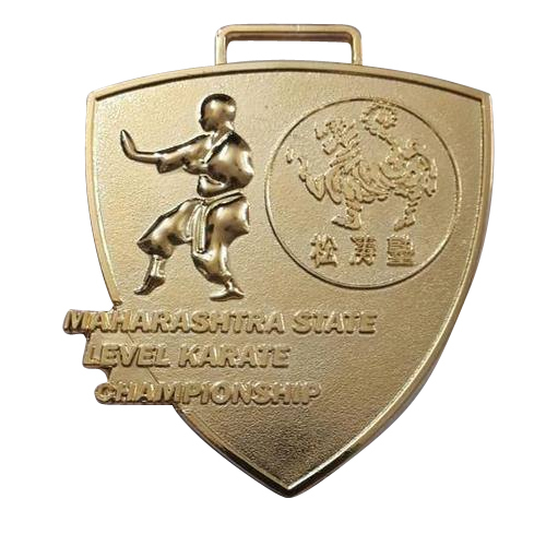 Karate Competition Medal