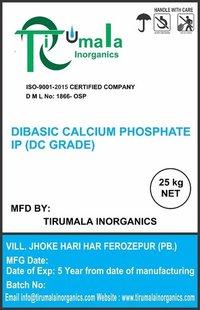 Dibasic Calcium Phosphate IP (DC Grade)