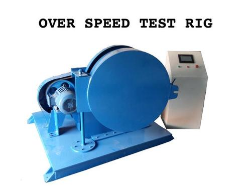ABRASIVE WHEEL OVER SPEED TEST RIG